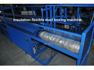 Insulation flexible duct boxing machine