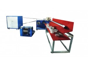 Automatic aluminum flexible duct machine