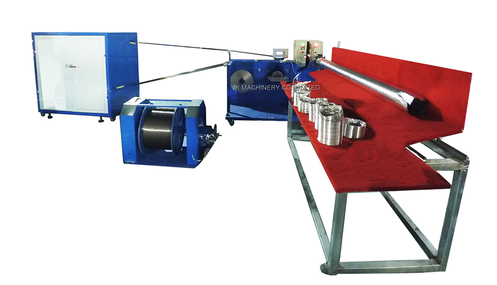 Automatic Aluminum Flexible Duct Machine