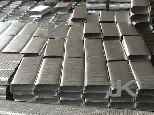Oval Aluminum Ducts