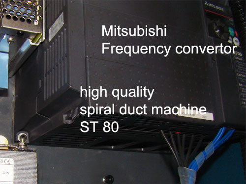 Spiral duct machine frequency convertor
